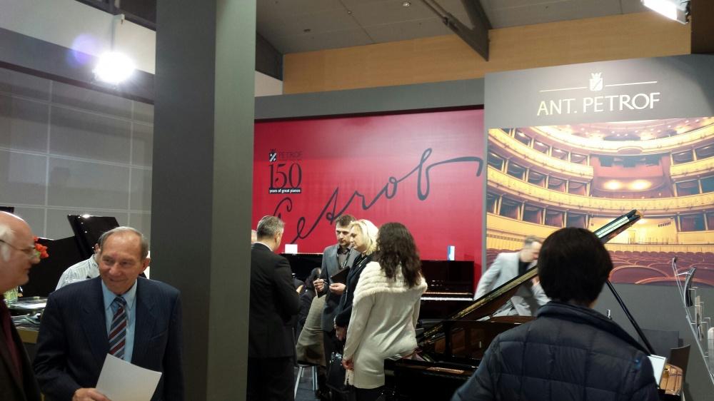 Petrof Limited Edition Piano arrives in Edinburgh!